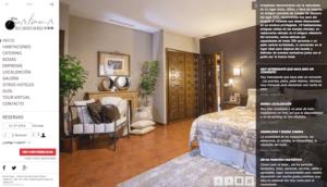 web responsiva del hotel san roque en balmaseda