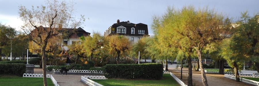 Foto del Hotel Ezeiza en la Playa de Ondarreta, en Donosti.