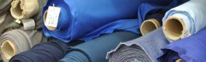 rollos de telas de colores