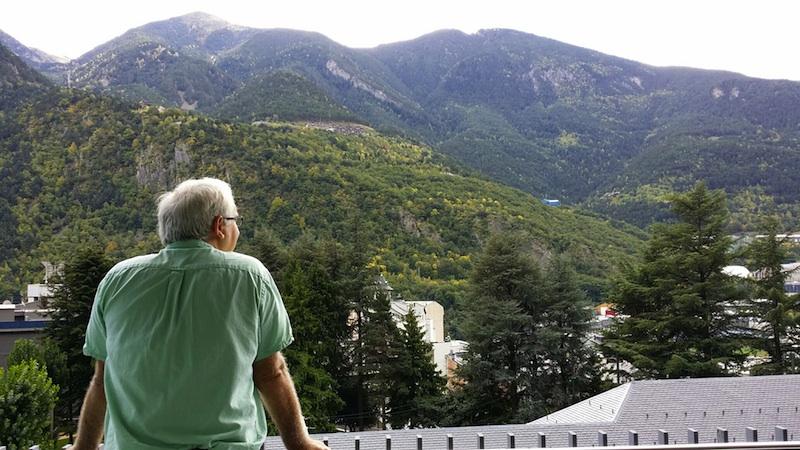 Terraza del Hotel Andorra Park