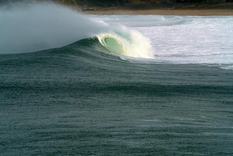 olas en el Cantábrico