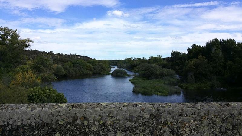 El río Ledesma