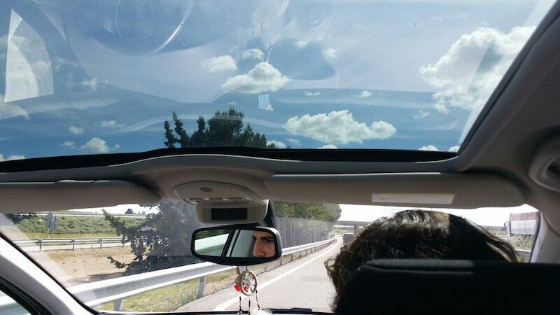 viajeros en un coche de bla bla car