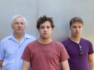 Felix, Eduardo y Aitor. El equipo de 360 hotel management
