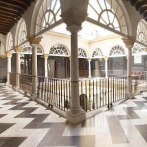 Patio Hotel Palacio de Villapanes en Sevilla