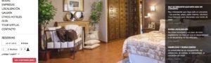 ejemplo de pagina web del hotel san roque de balmaseda