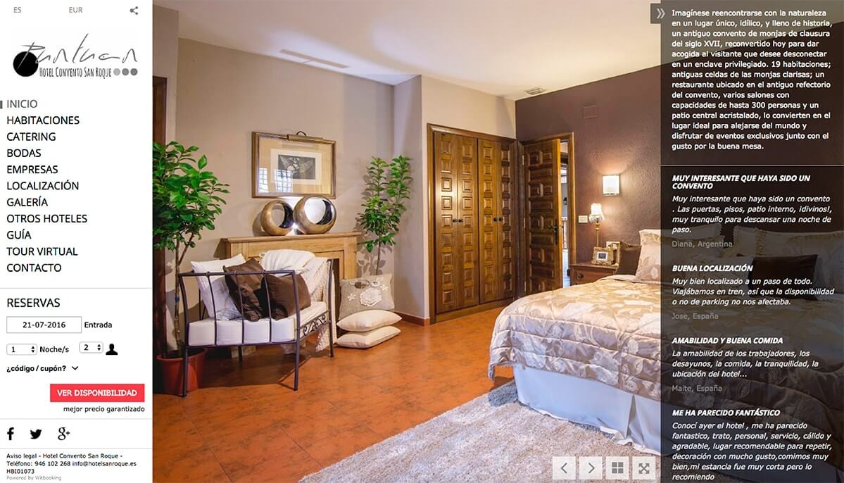Integraciones para web de hoteles
