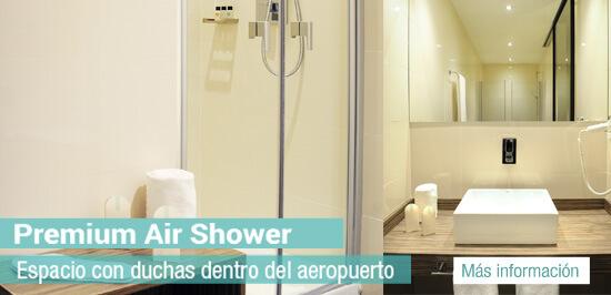 servicio de duchas aeropuerto madrid