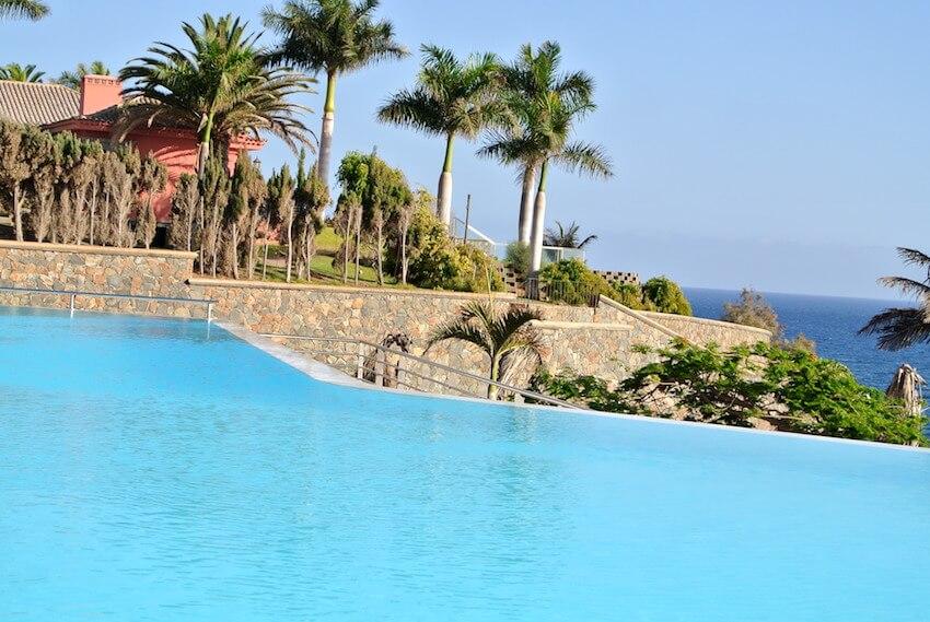 Piscina del Hotel Meloneras Palace en Gran Canaria