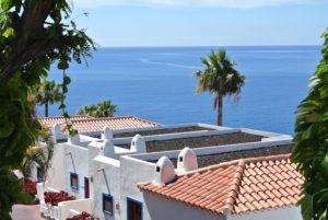 Vista desde el Hotel Jardin Tecina