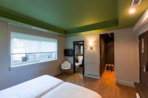habitacion del hotel rio bidasoa