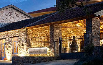 el molino de losacio de noche