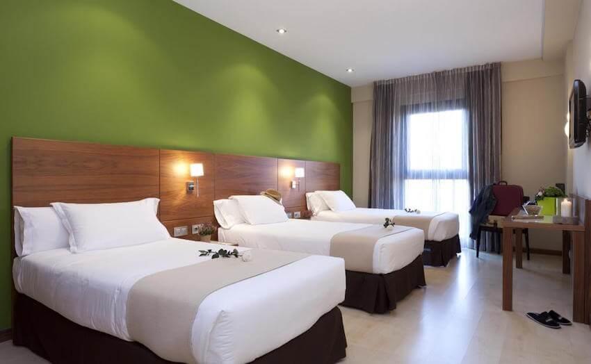 habitacion triple gran hotel bilbao