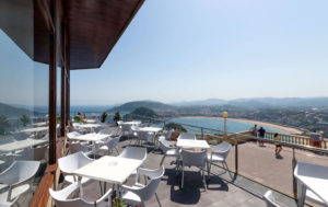 vistas desde el hotel monte igueldo