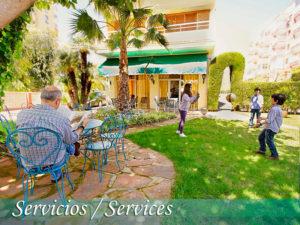 jardin del hotel tramontana