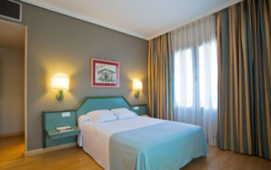 habitacion del hotel urdanibia park