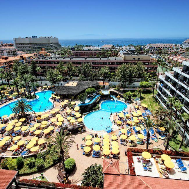 Vista del Hotel Bitacora en Playa de Las Americas
