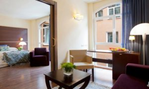 junior suite del palacio blasones en Burgos