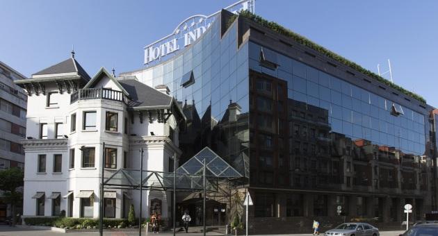 exterior del hotel silken indautxu