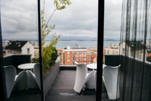 vista desde el hotel art en santander