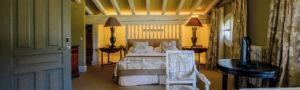 Habitación del hotel iturregi en getaria
