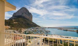 vistas desde el hotel porto en calpe