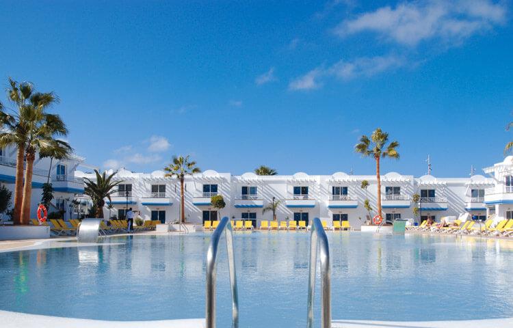 Piscina del Hotel Arena Beach en Fuerteventura