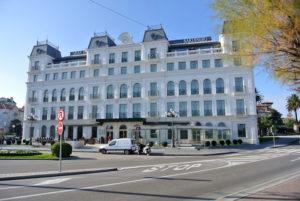El Gran Hotel Sardinero, en Santander, un clásico.
