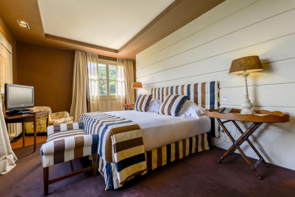 La habitación del Hotel Iturregi de Getaria. Muy cerca de los nuevos escenarios de Juego de Tronos en Zumaia.