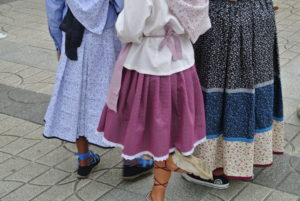 Fiesta Vasca en Zarautz.