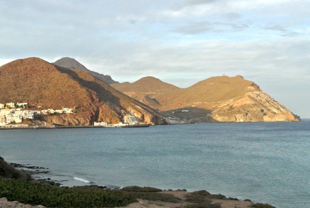 El Cabo de Gata en Almería.