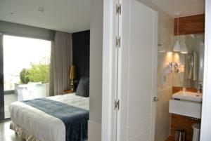 Habitación del Hotel Art en Santander