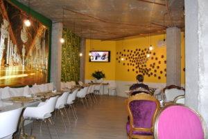 Comedor del Hotel Art en Santander