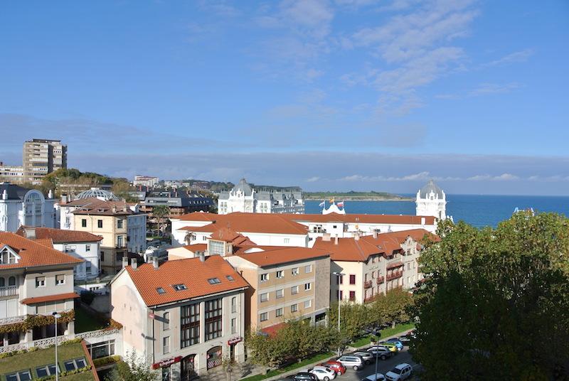 Vistas desde el Hotel Santemar en Santander
