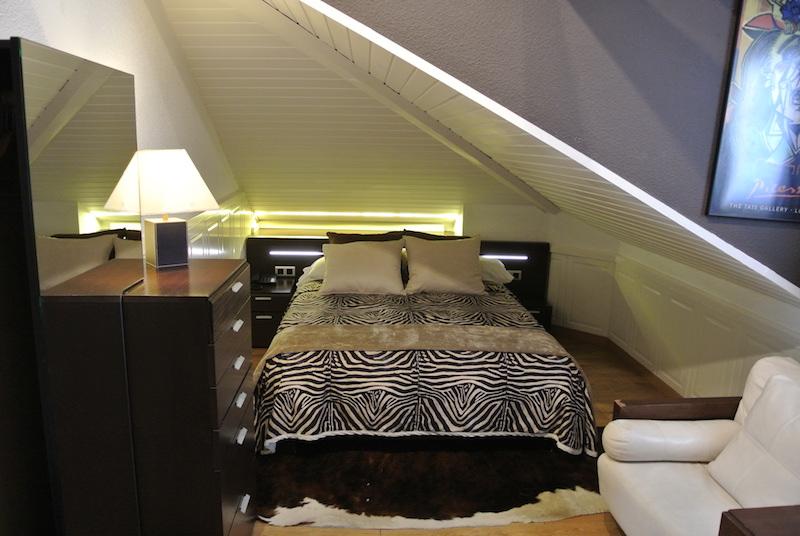 Habitación del Hotel Las Brisas en Santander