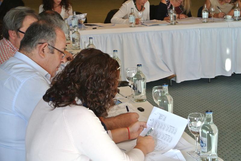 Sesiones del Curso de Revenue Management en el Hotel H10 Rubicón Palace, en Playa Blanca, Lanzarote.