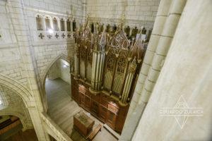 El órgano de la Catedral de Santa María.