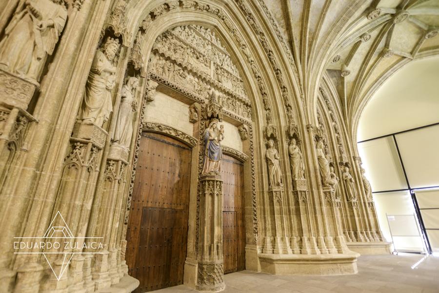 El Pórtico de la Catedral de Santa María.