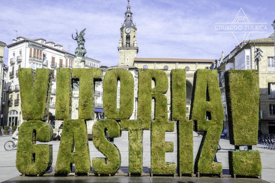 Bienvenidos a Vitoria, ongi etorri!