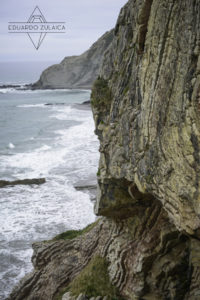 Flysch cliffs.