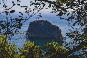 Islotes vistos desde la costa.