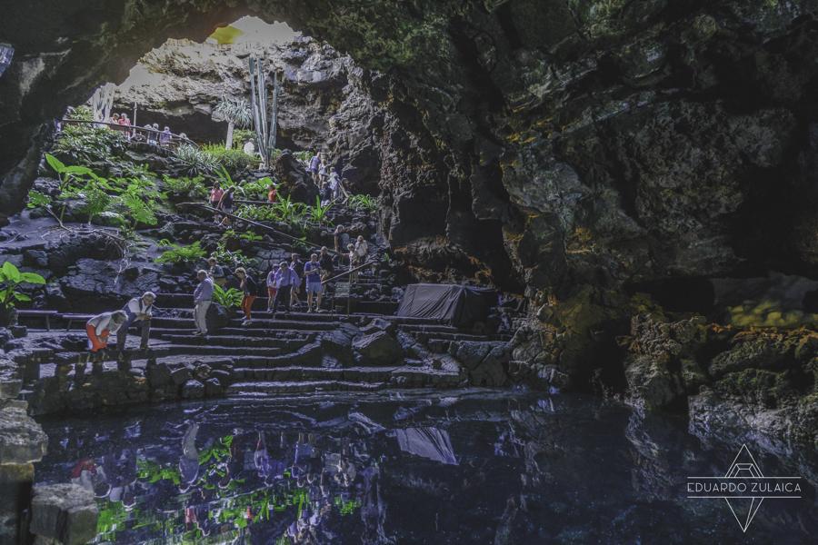 Los Jameos del agua, Lanzarote. Photo Eduardo Zulaica.