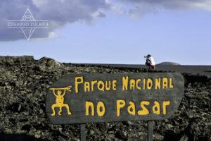 Parque Nacional Timanfaya, Lanzarote. Photo Eduardo Zulaica.