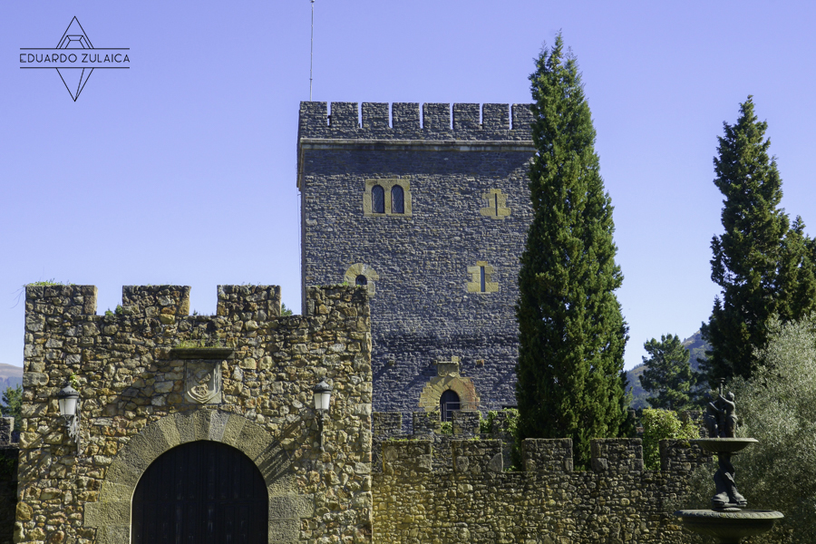 Torre y Muralla Torre Loizaga Foto Eduardo Zulaica
