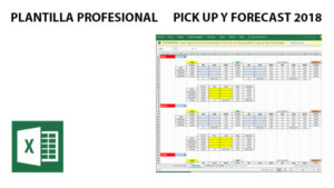 Plantilla profesional de Pick Up y Forecast 2018