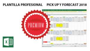 Plantilla Profesional Excel de Pick Up y Forecast 2018 - Versión Premium