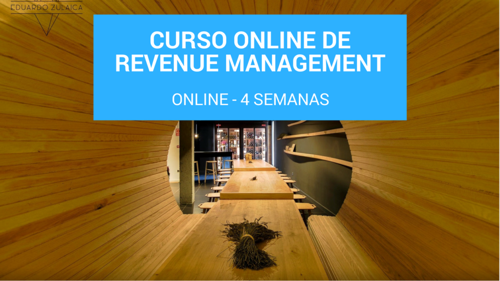 Curso online de Revenue Management