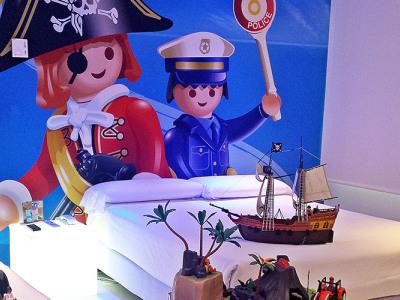 Habitacion Playmobil Hotel del Juguete Ibi Alicante