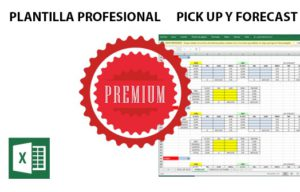 Plantilla excel premium para revenue management