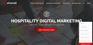 Cornell Hospitality Digital Marketin